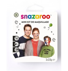 Mini Kit supporter France snazaroo 3 x 2 ml