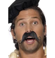 Moustache à la francaise adulte