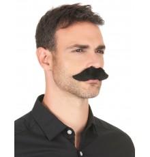 Moustache adhésive noire adulte