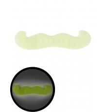 Moustache phosphorescente