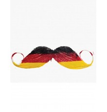 Moustache supporter Allemagne adulte