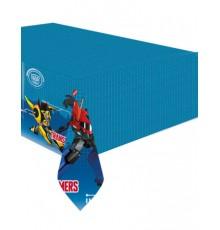 Nappe en plastique Transformers 120 x 180 cm