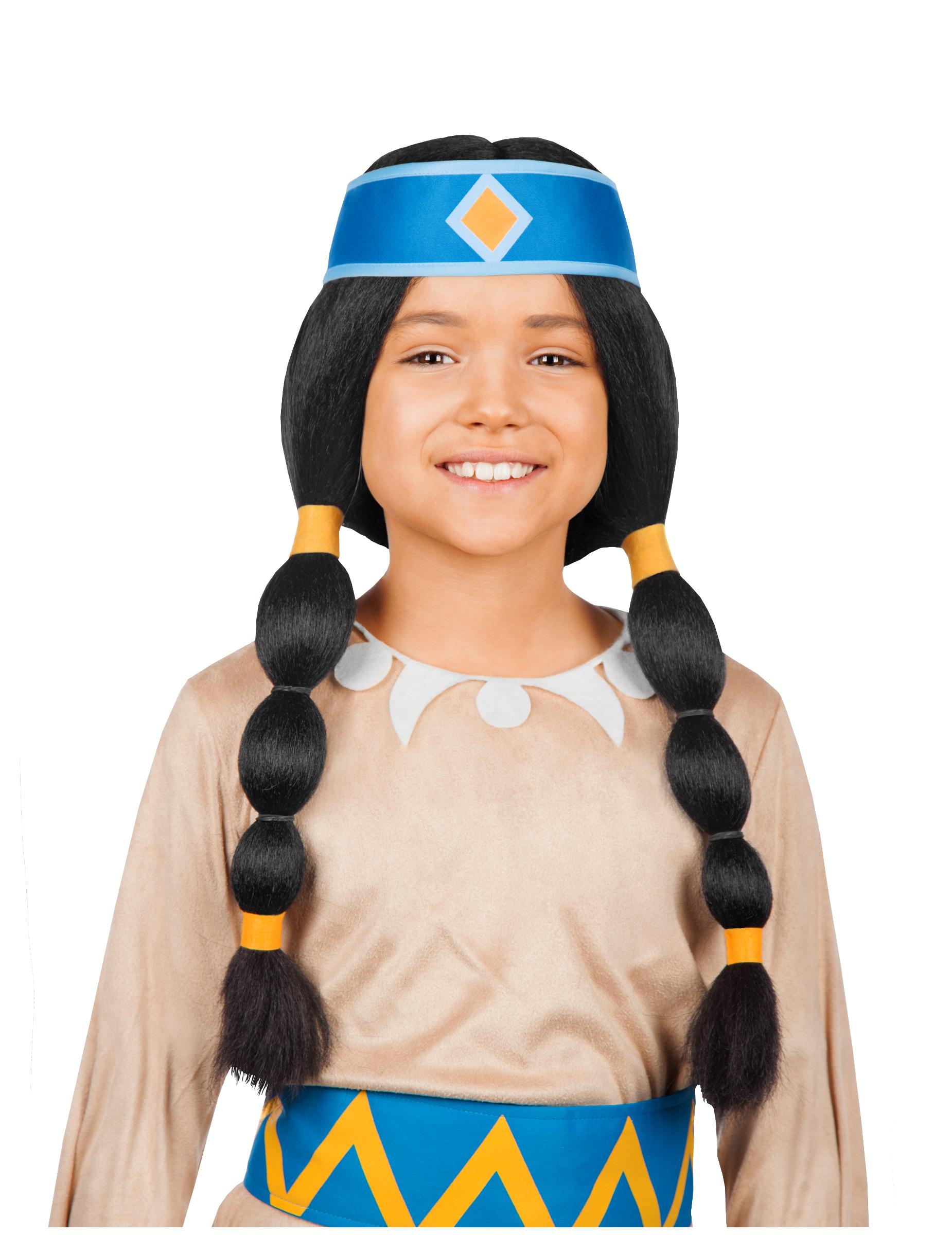 Perruque Arc-en-Ciel - Yakari enfant