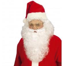 Perruque avec barbe Père Noël adulte
