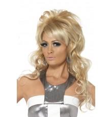 Perruque blonde femme