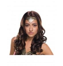 Perruque deluxe Wonder Woman adulte