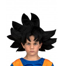 Perruque Goku Dragon Ball enfant