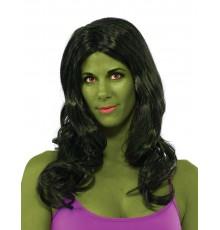 Perruque Hulk femme