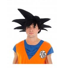 Perruque noire Goku Saiyan Dragon ball Z adulte