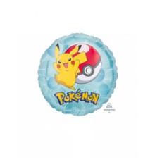 Petit ballon aluminium rond Pokémon 23 cm