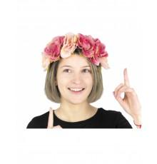 Serre-tête à fleurs vintage adulte