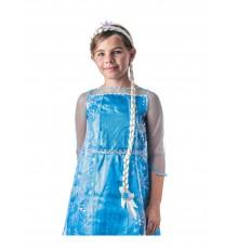 Serre-tête tresse princesse des glaces enfant