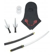 Set ninja - armes en plastique