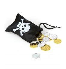 Trésor pirate avec sa besace