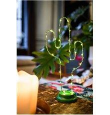 Cactus en métal vert lumineux 19 x 40 cm