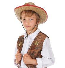 Chapeau de Cowboy en Paille pour Enfant