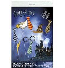 Kit photobooth 8 pièces Harry Potter