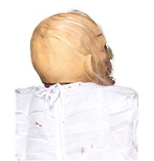 Masque latex viellard cadavérique adulte