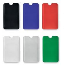 Porte carte RFID en plastique de 6 couleurs différentes