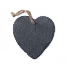 Décoration Cœur en Ardoise