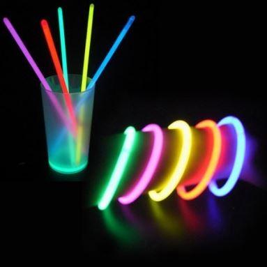 Lot de 100 Bracelets Fluorescents de Qualité Supérieure