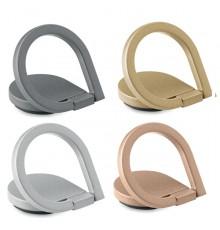 Support de téléphone  avec anneau en zinc