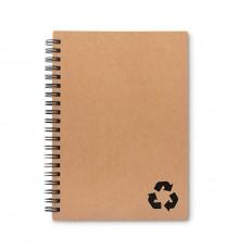 Cahier à Spirales en Carton Recyclé