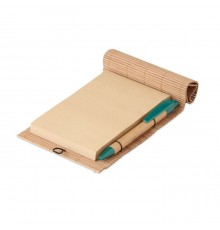 Cahier avec stylo tous en bambou