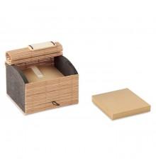 Bloc-notes en bambou avec 500pages