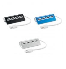 Hub en Aluminium à 4 Ports USB