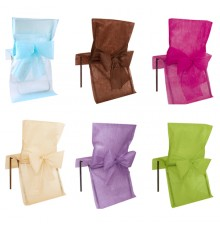 Lot de 10 Housses de chaise Premium