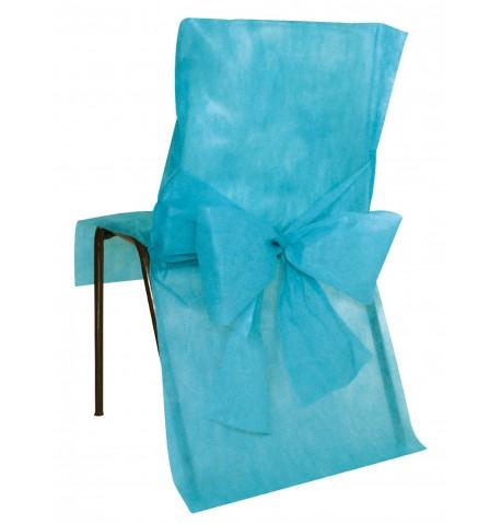 10 Housses de chaise Premium noires
