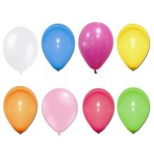 100 Ballons fuchsia 27 cm