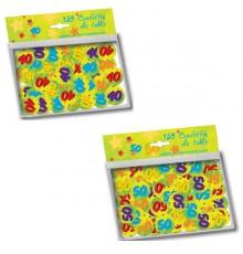 Paquet de 150 confettis d'anniversaire 2,5 cm