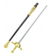 Fine épée de mousquetaire et son fourreau