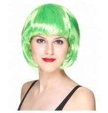 perruque cabaret fluo vert fluo