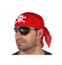 Lot bandana et cache-oeil de pirate