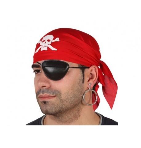 Lot bandana et cache-oeil de pirate