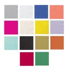 Paquet de 20 Serviettes en Papier Coloré