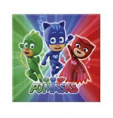 20 serviettes Pyjamasques  33 x 33 cm