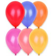 24 Ballons bleus foncés 25 cm