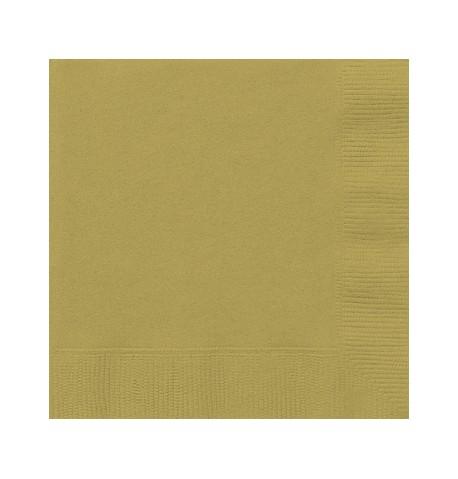 Lot de 50 serviettes en papier 33 x 33 cm