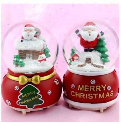 Boule à neige Noël 7 cm
