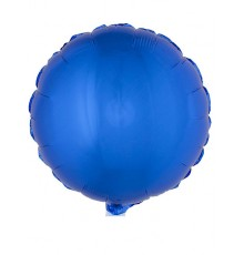Ballon en aluminium en forme ronde divers coloris