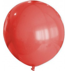 Ballon en caoutchouc 80 cm divers coloris