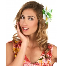 Barrette Fleur Hawaï