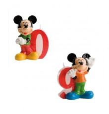 Bougie numéro 9 Mickey