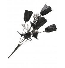 Bouquet roses noires