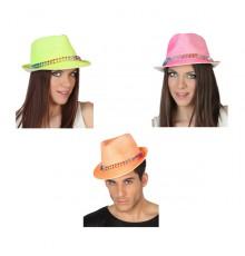 Chapeau Borsalino avec Bande Cloutée