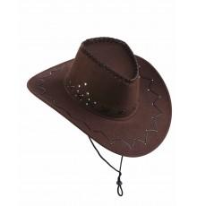Chapeau de Cowboy en Suédine